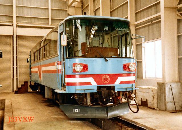樽見鉄道_ハイモ180-100形 180-101