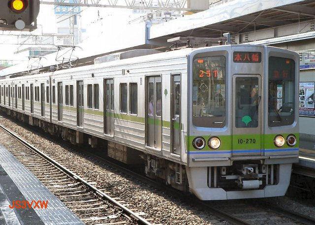 東京都営地下鉄 新宿線10-000形 8次車27... S1 東京都交通局 (都営地下鉄) 新宿
