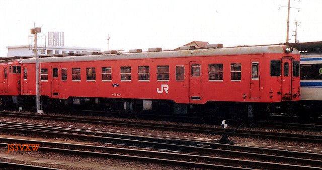 JR四国 キハ20 52 45 旧型気動車